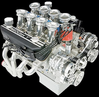 Roush 511irfe cobra aluminum mac daddy engine roush engine 511irfe publicscrutiny Choice Image
