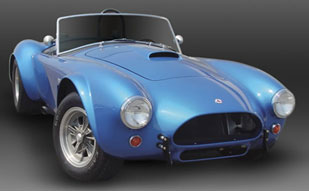 Picture blue classic shelby