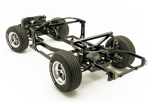 Picture chassis rear