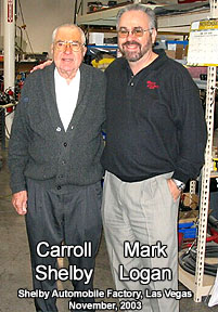 Picture Mark Logan and Carroll Shelby