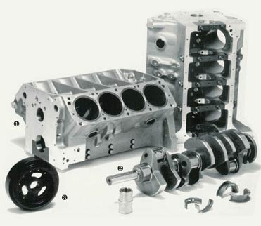 Picture Shelby Engine Block